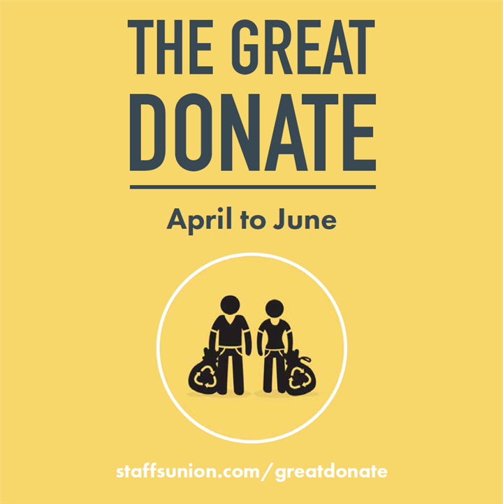 The Great Donate Collection Week