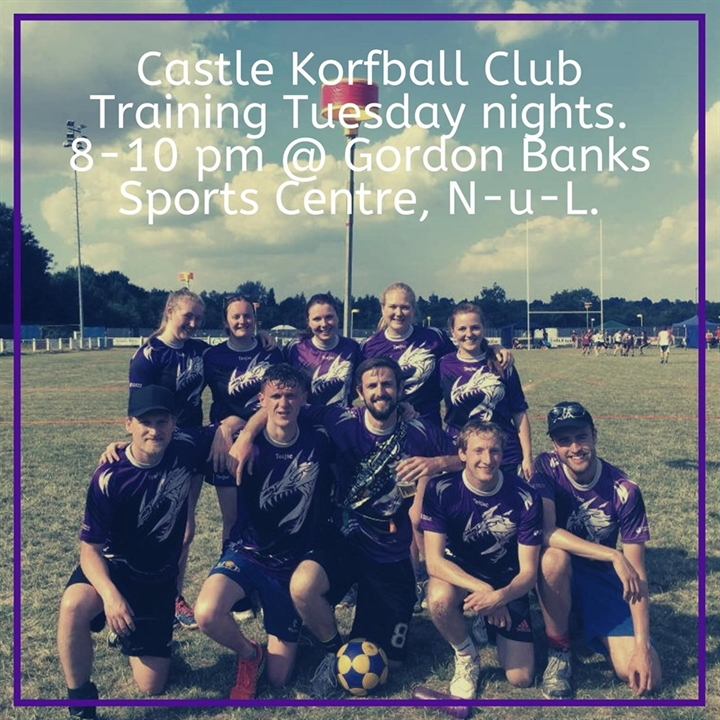 Castle Korfball Training Sessions | #GiveItAGo
