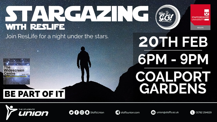 Stargazing with ResLife | #GiveItAGo
