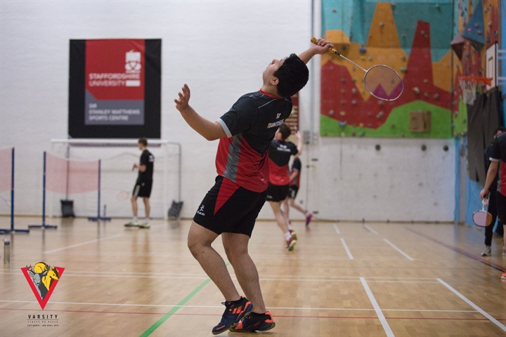 Men's Badminton - Sport at Staffs