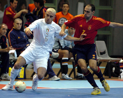 Also the Brazilian futsal