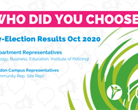 who did you choose? By election results oct 2020, department representatives for biology, business,