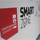 Staffordshire University logo with Smart Zone logo