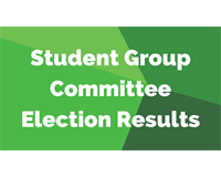 Student group Election Results