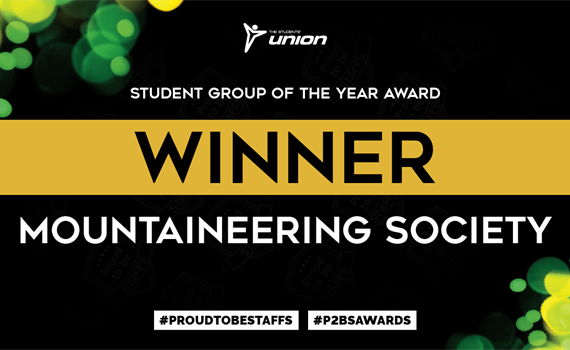 Student Group of the Year Award Winner Mountaineering