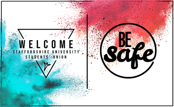 Welcome and Be Safe logo