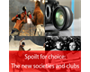 The new societies and clubs
