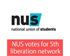 NUS votes for 5th liberation network